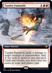 Tundra Fumarole - Foil - Extended Art