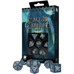 Call of Cthulhu: Abyssal & White 7-Die Set