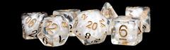 7-Die Set 16mm Resin Pearl: Copper Numbers
