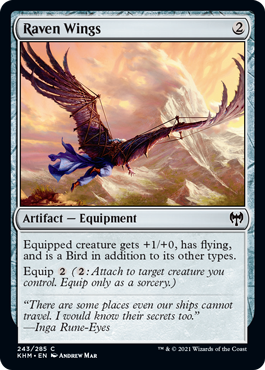 Raven Wings - Foil