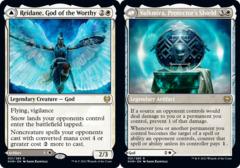 Reidane, God of the Worthy // Valkmira, Protectors Shield - Foil
