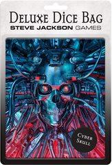Steve Jackson Games: Deluxe Dice Bag: Cyber Skull