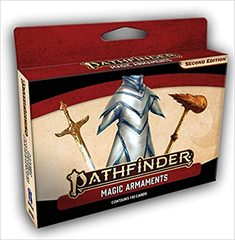 Pathfinder RPG (2nd Edition) Cards: Magic Armaments Deck