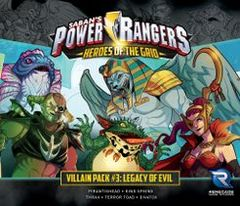Power Rangers: Heroes of the Grid - Villain Pack #3: Legacy of Evil