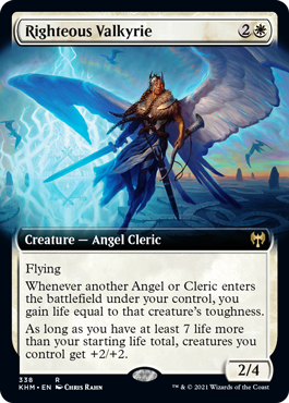 Righteous Valkyrie - Extended Art