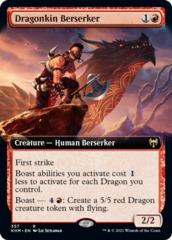 Dragonkin Berserker - Extended Art