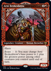Arni Brokenbrow - Foil - Showcase