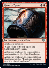 Rune of Speed - Foil