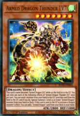 Armed Dragon Thunder LV7 - BLVO-EN002 - Ultra Rare - 1st Edition