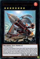 Springans Ship - Exblowrer - BLVO-EN046 - Ultra Rare - 1st Edition