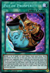 Pot of Prosperity - BLVO-EN065 - Secret Rare - 1st Edition