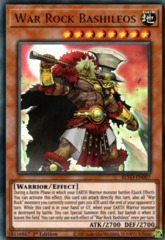 War Rock Bashileos - BLVO-EN097 - Ultra Rare - 1st Edition