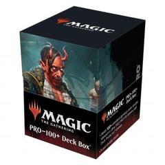 Ultra Pro: Kaldheim 100+ Deck Box featuring Tibalt, Cosmic Imposter