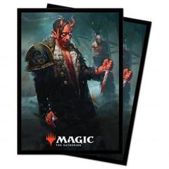Ultra Pro: Kaldheim 100ct Sleeves featuring Tibalt, Cosmic Imposter