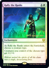 Rally the Ranks - Foil - Prerelease Promo