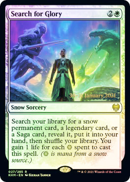 Search for Glory - Foil - Prerelease Promo