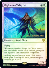 Righteous Valkyrie - Foil (Prerelease)