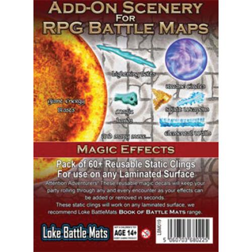 RPG Battle Mats Add-On Scenery: Magic Effects