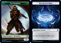 Elf Warrior Token // Replicated Ring Token - Foil