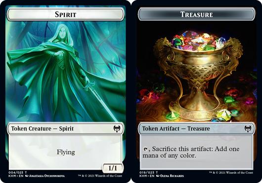 Spirit Token // Treasure Token - Foil