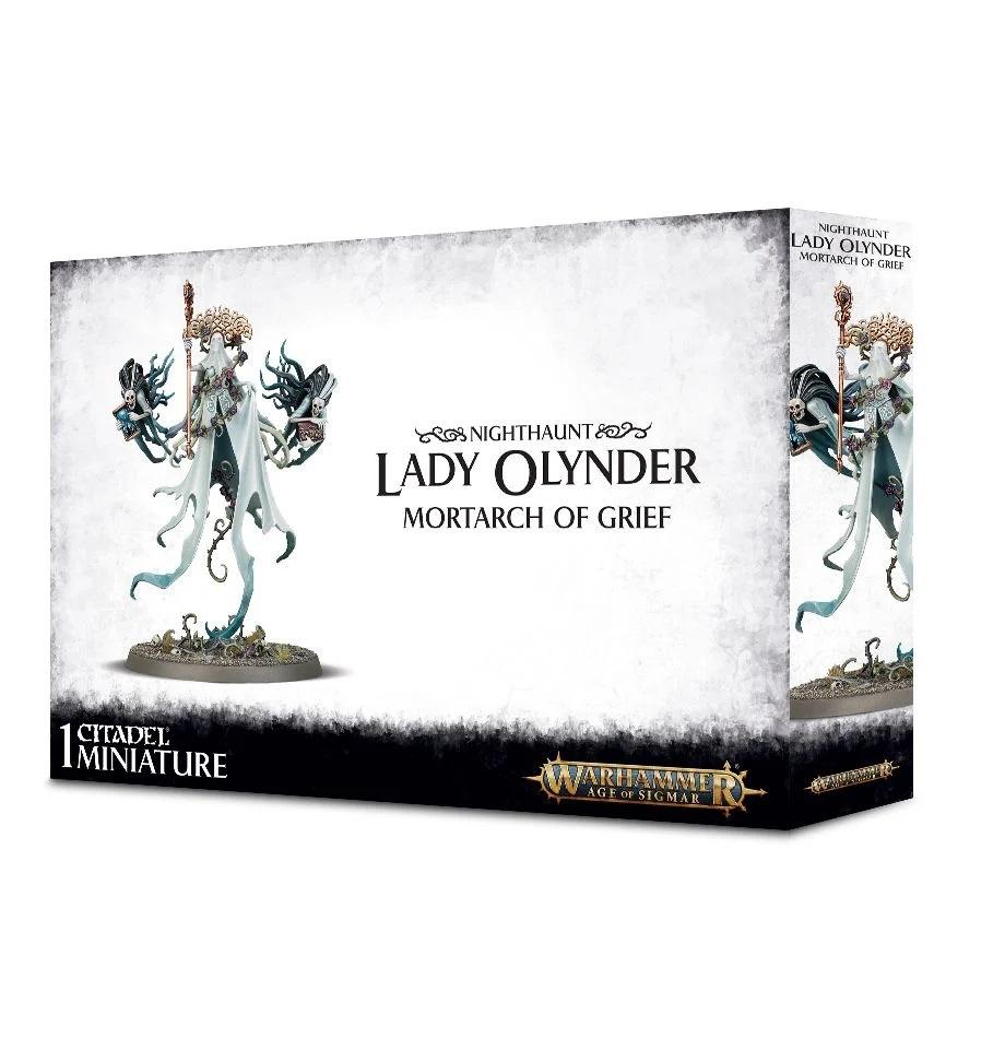 Age Of Sigmar: Nighthaunt: Lady Olynder, Mortarch of Grief