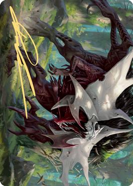 Vorinclex, Monstrous Raider 1 Art Card - Gold-Stamped Signature