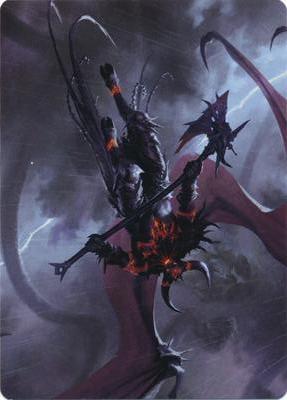 Burning-Rune Demon Art Card