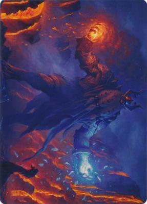 Aegar, the Freezing Flame Art Card