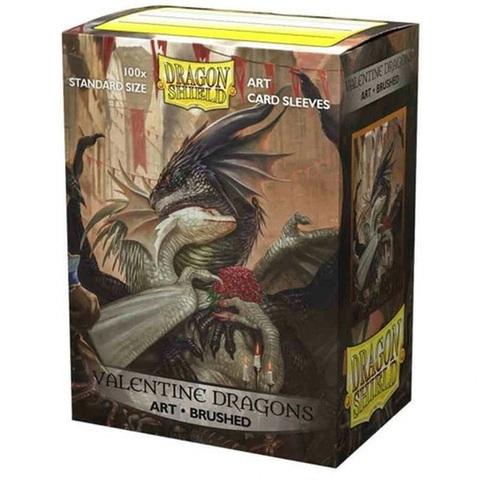 Dragon Shield: Valentine Dragon 2021 Art Card Sleeves (100)