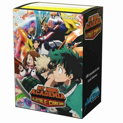 Dragon Shield - My Hero Academia Plus Ultra Fight 100 Count Standard Sleeves