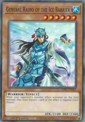 General Raiho of the Ice Barrier - SDFC-EN015 - Common - 1st Edition