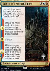 Battle of Frost and Fire - Foil - Promo Pack