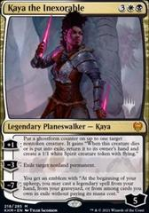Kaya the Inexorable - Foil - Promo Pack