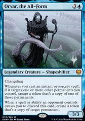 Orvar, the All-Form - Promo Pack