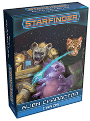 Starfinder Alien Character Cards
