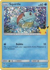 Squirtle - 17/25 - Holo - McDonald's 25th Anniversary Promo