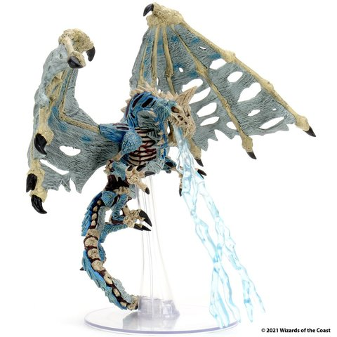 D&D Icons of the Realms: Boneyard Premium Set - Blue Dracolich