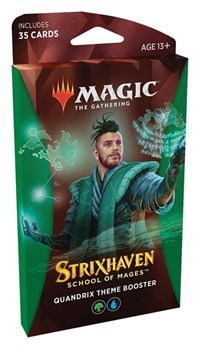 Strixhaven: School of Mages - Theme Booster Pack - Quandrix