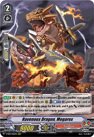 Ravenous Dragon, Megarex - V-SS07/025EN - RRR