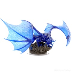 D&D Icons of the Realms: Adult Sapphire Dragon