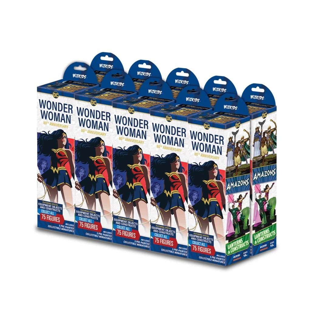 WizKids DC Comics HeroClix: Wonder Woman 80th Anniversary Brick