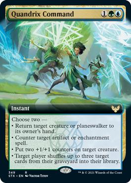 Quandrix Command - Extended Art