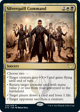 Silverquill Command - Foil