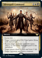 Silverquill Command - Foil - Extended Art