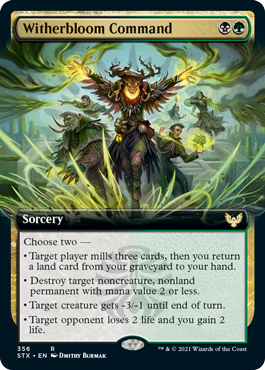 Witherbloom Command - Extended Art