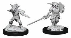 D&D Nolzur's Marvelous Miniatures: Male Goblin Rogue & Female Goblin Bard (Wave 15)
