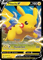 Pikachu V - SWSH061 - SWSH Black Star Promos