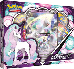 Pokemon: Galarian Rapidash V Box