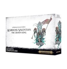 Age Of Sigmar: Nighthaunt - Kurdoss Valentian, The Craven King