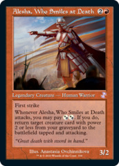 Alesha, Who Smiles at Death - Foil